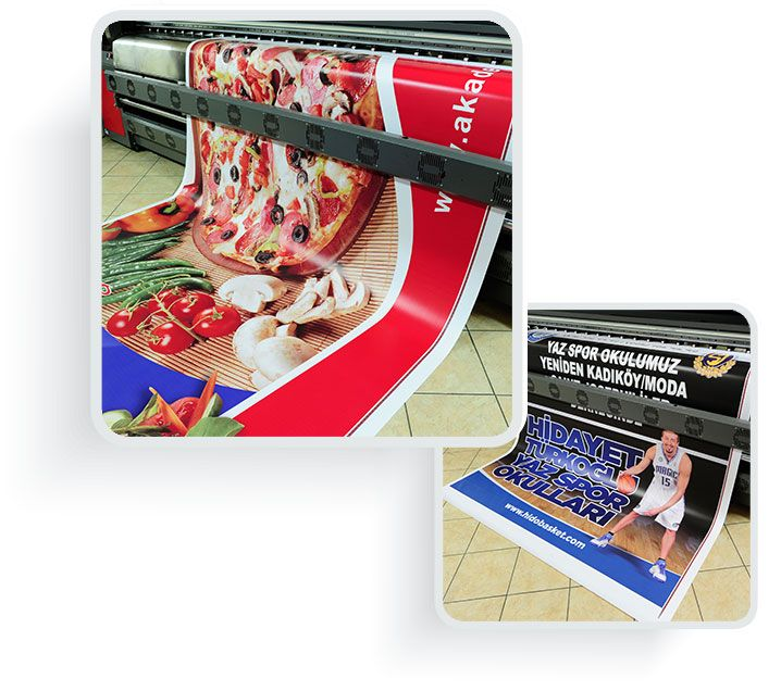 Outdoor advertisements solutions with High Quality Digital Printing
