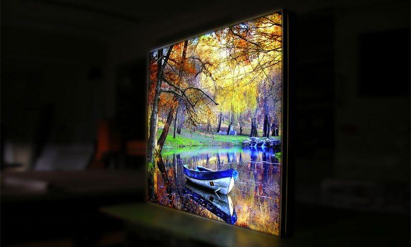 Backlit Acrylic Digital UV Printing Systems