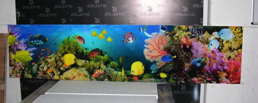 Backsplash Acrylic Printing