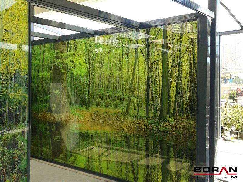UV Printing Glass can be laminated.