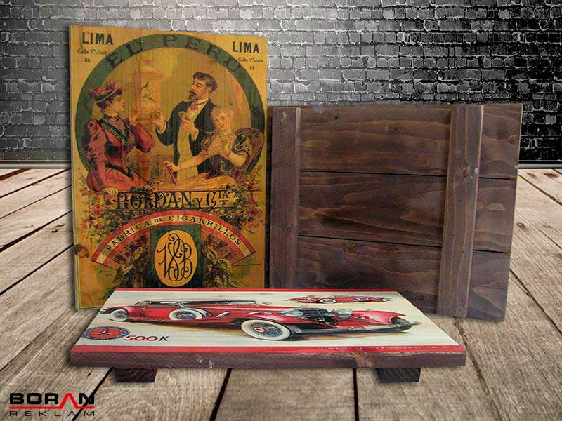 You can print thousands of different image on wood by UV Printing System.