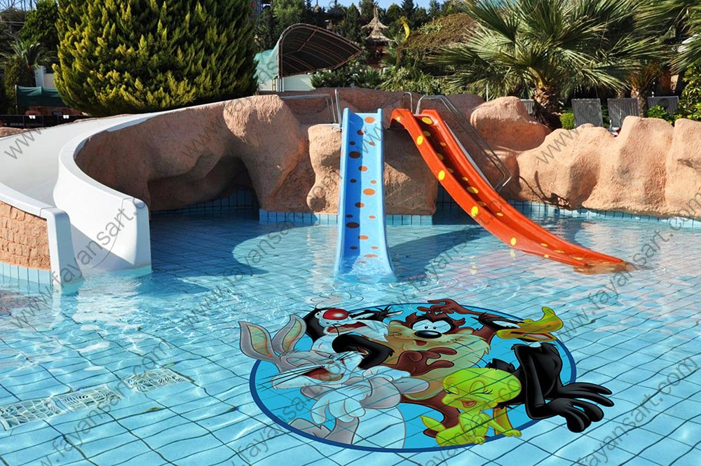 Custom Size Printed Pool