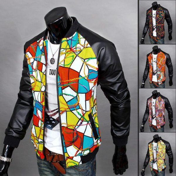 printing on genuine leather coat